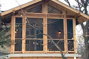 Jeld Wen Com Windows : hometime tv show urban porch framing finishing ~ Markanthonyermac.com Haus und Dekorationen