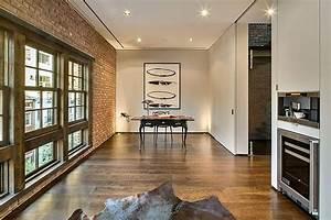 Modern, Townhouse, With, Loft, Design, New, York, City