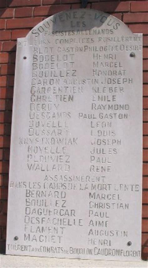 monument aux morts de bruay la buissiere