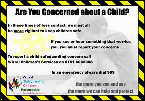 safeguarding awareness poster wirral safeguarding