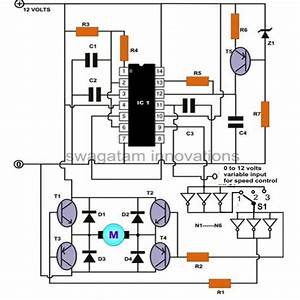 How To Build A High Torque Dc Motor Speed Controller Circuit