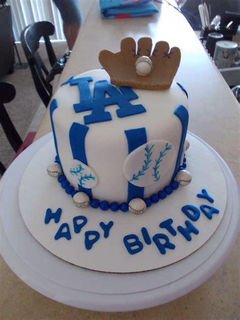 baseball cake la dodgers cakes pinterest cake