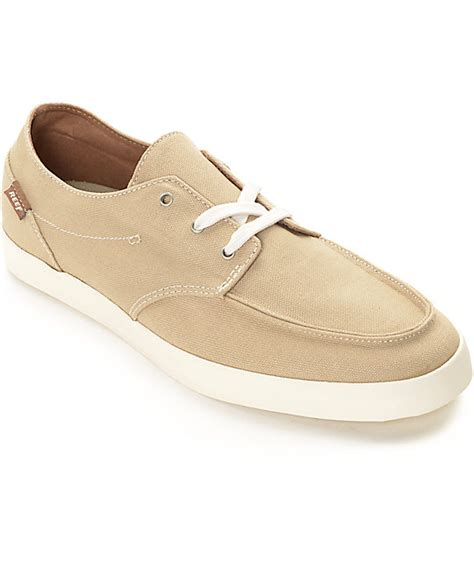 reef deckhand 2 white reef deck 2 white shoes zumiez