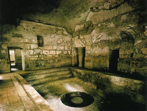 salle de bain romaine plan des thermes de caracalla thermes romains