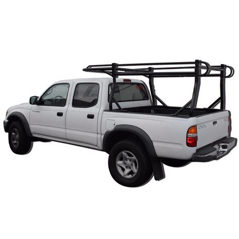 universal short bed pickup truck ladder rack side bar