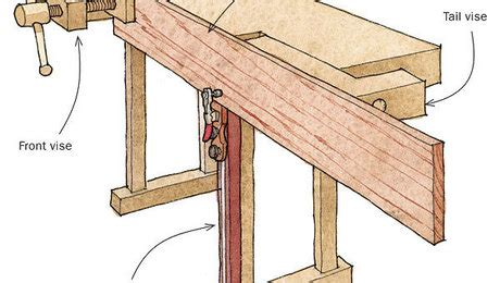 sliding bench jack holds boards  edge   height