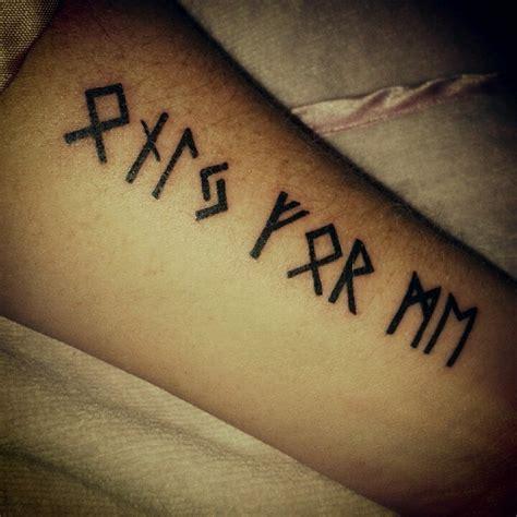 Runes Tattoo I Am Getting One Soon  Body Mod