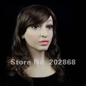 Female Silicone Mask Realistic