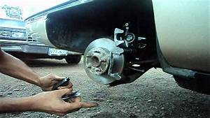 Rear Disc Brake Caliper Replacement  1994 Cadillac Deville
