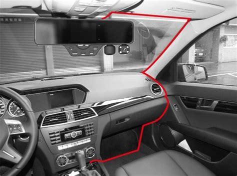 falcon   hd dvr dual dash cam rear view mirror