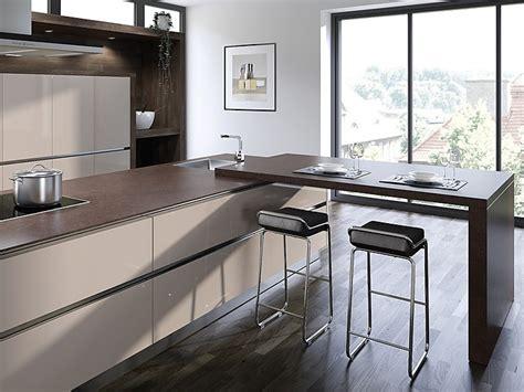 Die Küchenarbeitsplatte Als Theke, Bar Oder Tisch