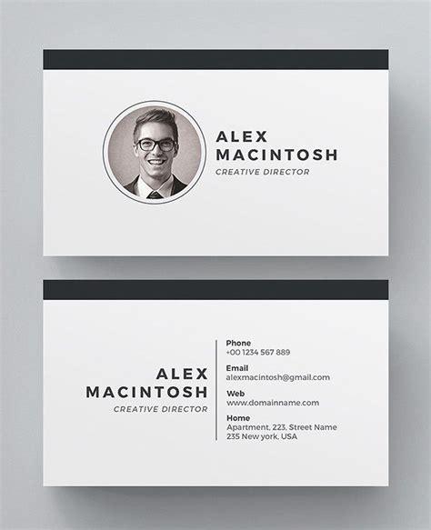 simple  clean business card templates  print design