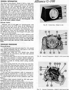 Alliance U 100 Rotator Manual