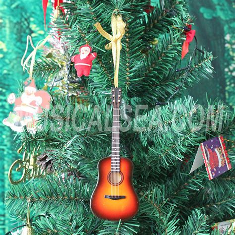 guitar ornaments for christmas tree decorations miniature musical instruments gift are the widest selections from