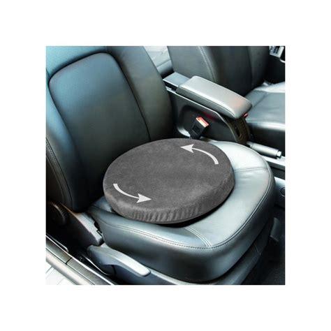 siege auto tournant coussin rotatif 360 aménagement véhicule handicap