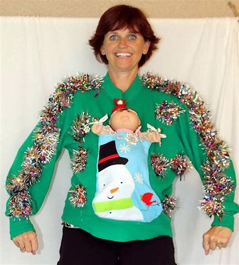 scary christmas sweaters ebay craftwoman 39 s horrible christmas jumpers take internet