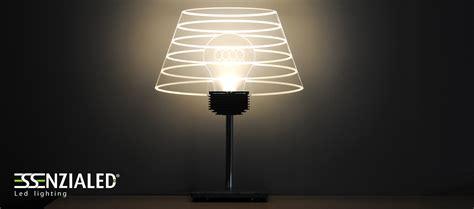 illuminazione led design abat jour lada led design di essenzialed