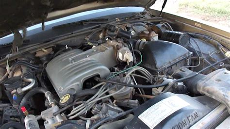 lincoln town car completed vacuum  repair youtube