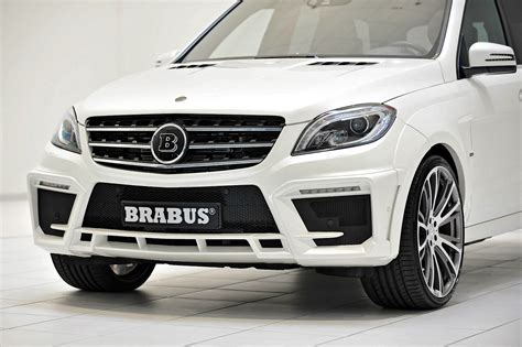 Brabus Unleashes 700 Hp Mercedes-benz Ml 63 Amg