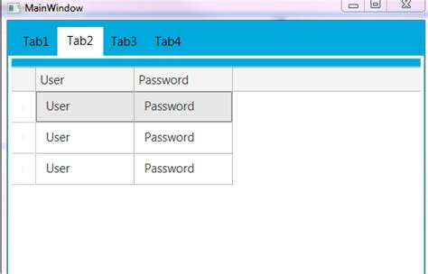 Wpf Tabcontrol Template by Wpf Tabcontrol Template C Infragistics Tabcontrol Inherit