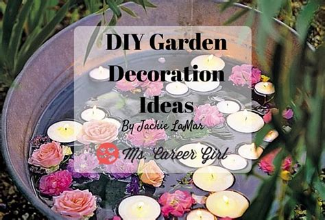 Garden Decoration Diy Ideas by Diy Garden Decoration Ideas Ms Career