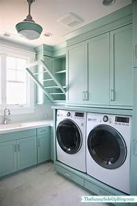 upstairs laundry room the sunny side up blog With best brand of paint for kitchen cabinets with laundry room wall art ideas