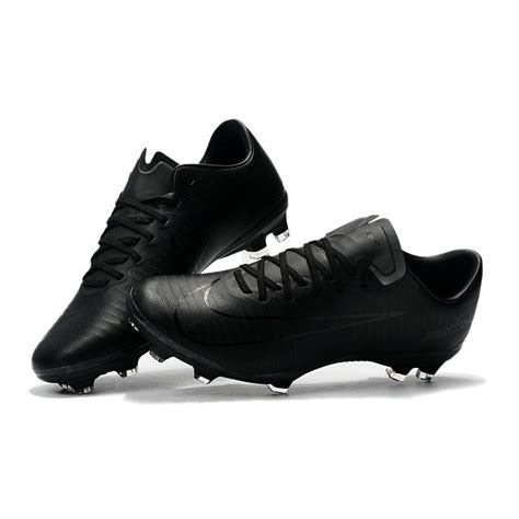 nike mercurial vapor xi acc fg soccer boot full black