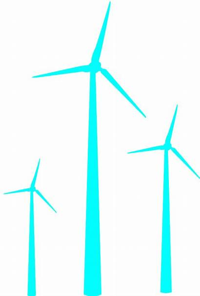 Wind Turbines Silhouettes Silhouette Vector Outline Svg