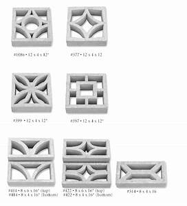 15+ companies that sell decorative concrete screen blocks