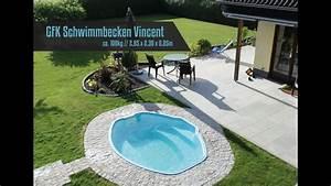 Gfk Pool Deutschland : gfk schwimmbecken fertig schwimmbecken fertig pool modell vincent youtube ~ Eleganceandgraceweddings.com Haus und Dekorationen