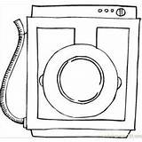 Coloring Pages Machine Appliances Washing Camera Coloringpages101 sketch template