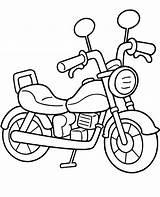 Coloring Easy Motorbike Pages Motor Bike Topcoloringpages Motorcycle Printable Dirt Chopper Sheet Children Motorbikes Motorcycles sketch template