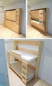 Lit Superposé Double : les 25 meilleures id es concernant lits murphy superpos s ~ Premium-room.com Idées de Décoration