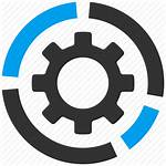Icon Software Diagram Application Process Gear Icons