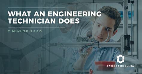 types  engineering technicians degree salary jobs info