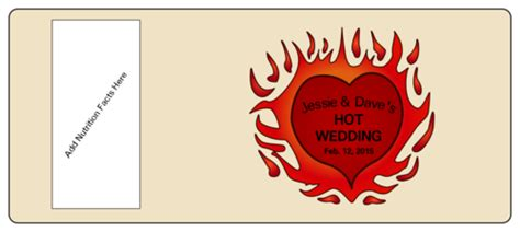 hot sauce bottle wedding label label templates ol