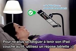 Comme On Fait Son Lit On Se Couche : produit malin le repose tablette pour ne plus se ~ Melissatoandfro.com Idées de Décoration