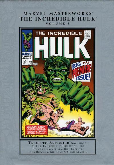 marvel masterworks  incredible hulk  headhunters