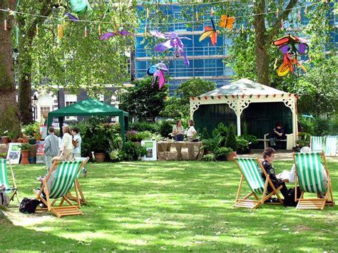 london garden squares open weekend
