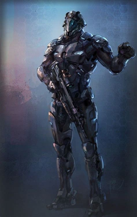 Battle Suit | Futuristic armour, Armor concept, Futuristic art