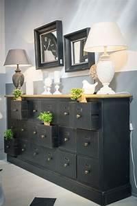 Meuble Style Campagne Chic : meuble de m tier 18 tiroirs meubles fils et lieux ~ Teatrodelosmanantiales.com Idées de Décoration