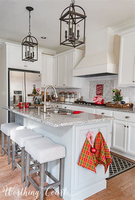 christmas kitchen decor  giveaway   exclusive offer worthing court
