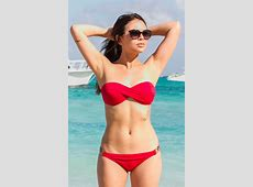 Janel Parrish in Red Bikini 01 GotCeleb
