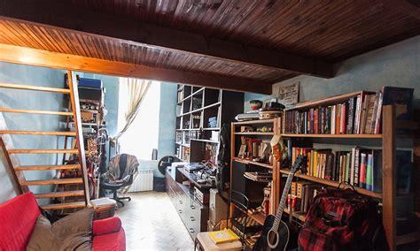 apartment  style   york city loft featuring rough
