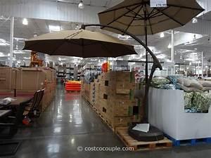 11 foot parisol cantilever umbrella costco umbrellas for Costco patio umbrella