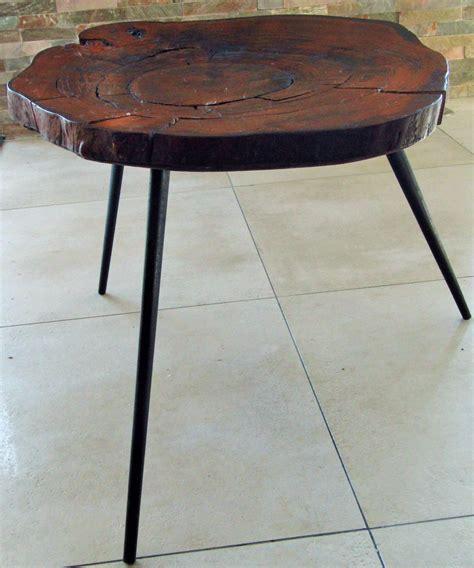 table basse en tronc d arbre 1950s en vente sur pamono