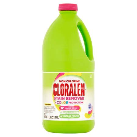 color of chlorine cloralen color non chlorine laundry stain remover 60 8