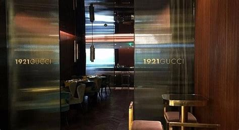 gucci cafe opens    worlds  gucci