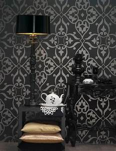 Retro Wallpaper Pattern Transforming Your Room into Unique ...