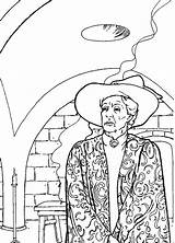 Potter Harry Chamber Secrets Coloring Fun Pages Colouring Mcgonagall Professor Votes sketch template